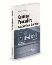 Israel and lafaves criminal procedure constitutional limitations israel and lafaves criminal procedure constitutional limitations in a nutshell 8th fandeluxe Gallery