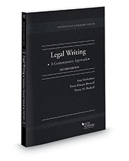 Sinsheimer brostoff and burkoffs legal writing a contemporary sinsheimer brostoff and burkoffs legal writing a contemporary approach 2d interactive casebook series ebook and learning library fandeluxe Gallery
