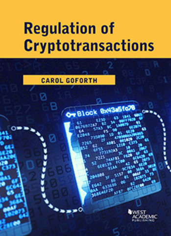 Goforth Regulations of cryptotransactions