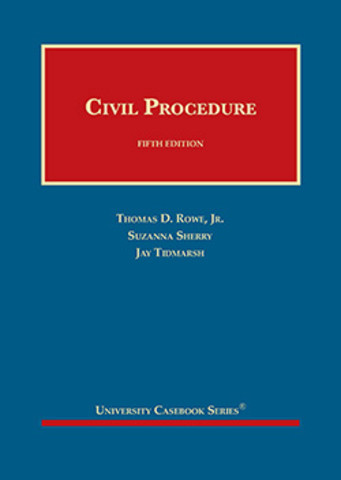 Rowe Civil Procedure