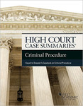 High Court Case Summaries Criminal Procedure