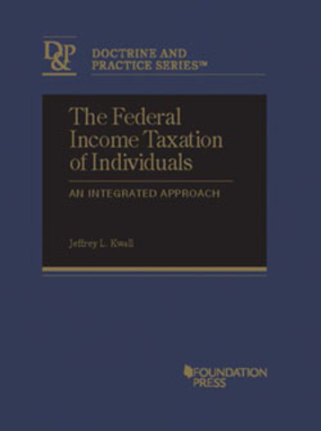 Kwall Federal income taxation individuals