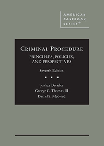 Dressler Criminal Procedure