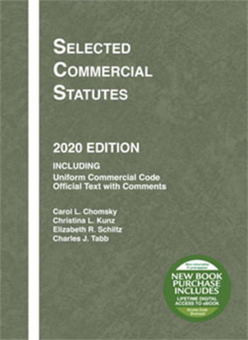 Chomsky Selected Commercial Statutes