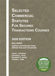 Chomsky Selected Commercial Statutes secured transactions