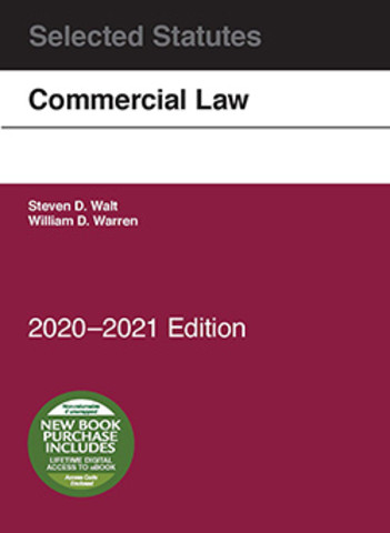 Walt Commercial Law, Selected Statutes