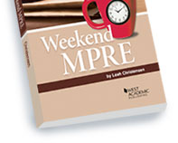 Weekend MPRE book cover