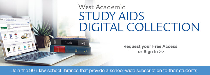 West Academic Study Aids Subscription For Law Schools