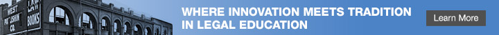 Where innovation meets tradition in legal education - Learn More